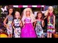 Bajka Barbie 🌸 Malowanie Ubrań I Nowa Koleżanka???? 🌸 Barbie Crayola 🌸 Po Polsku Z Lalkami