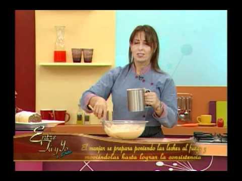 Entre tú y yo con Lorena: aprendiendo a preparar un delicioso pionono