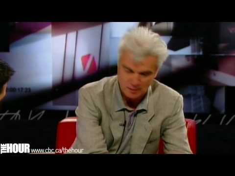 David Byrne on The Hour with George Stroumboulopoulos