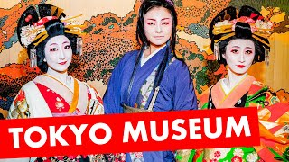 Edo-Tokyo Museum in Japan