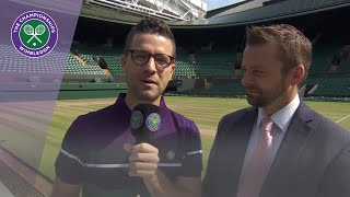 Patrick Williams speaks about the new No.1 Court at Wimbledon 2019