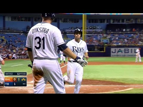 BAL@TB: Forsythe works bases-loaded walk to take lead