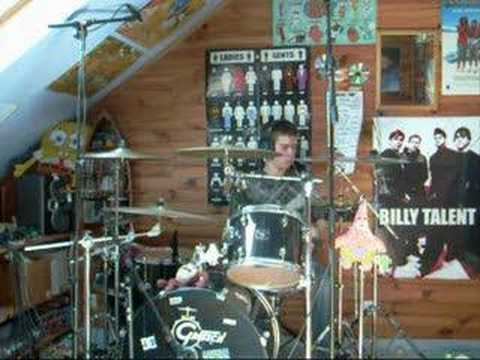 Crumble Lane - Julia Ann drum cover by Jojothebatteur Video