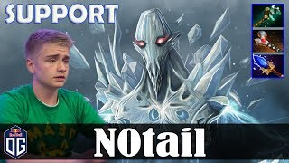N0tail - Ancient Apparition Safelane | SUPPORT vs JerAx (Tiny) | Dota 2 Pro MMR Gameplay