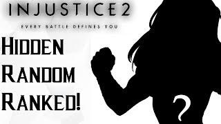 RANDOM FORGIVES ME! Hidden Random Ranked Injustice 2 with Dink!