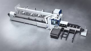TRUMPF Laser Tube Cutting: TruLaser Tube 5000