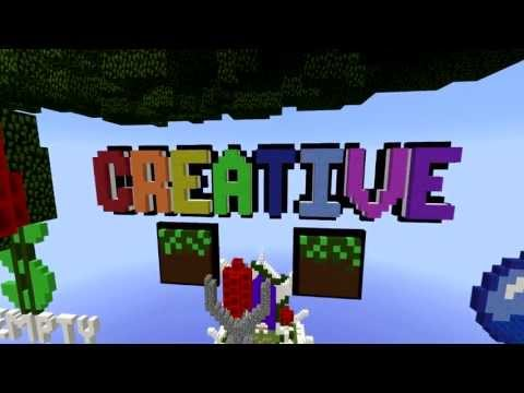 1.6.4 CREATIVE MODE SERVER 1.6.4 NONHAMACHI (Minecraft Parody of Fresh Prince of