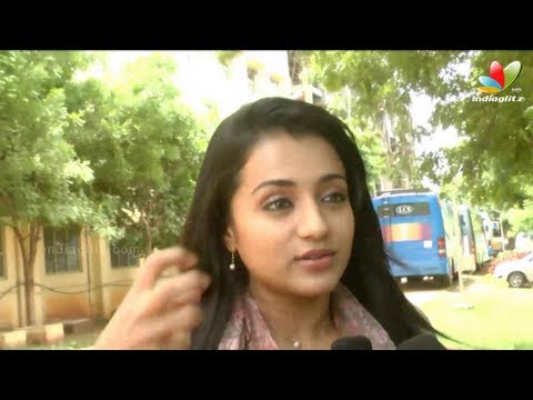 Jayam Ravi, Trisha Krishnan Interview | Boologam Movie Shooting Spot | Prakash Raj | Making video
