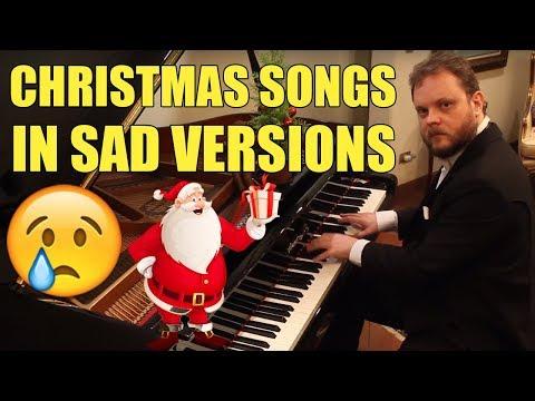 Christmas Songs in Sad Versions Vídeos de zueiras e brincadeiras: zuera, video clips, brincadeiras, pegadinhas, lançamentos, vídeos, sustos