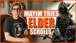 Playing Elder Scrolls Online: Part 1 || Mayim Bialik
