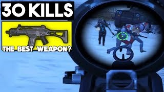 NEW WEAPON G36C IS OP!!! | 30 KILLS SOLO vs SQUAD | PUBG Mobile