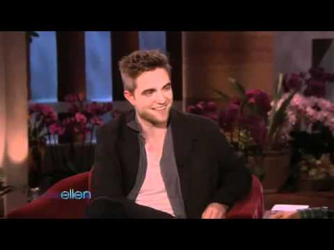 Robert Pattison on Ellen DeGeneres Show