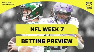 Warren Sharp's NFL Week 7 Preview | The Lefkoe Show