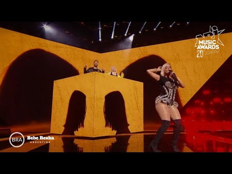 Download Lagu  David Guetta, Bebe Rexha & Anne Marie - Don't Leave Me Alone/Say My Name NRJ  Awards 2018 Mp3 Free