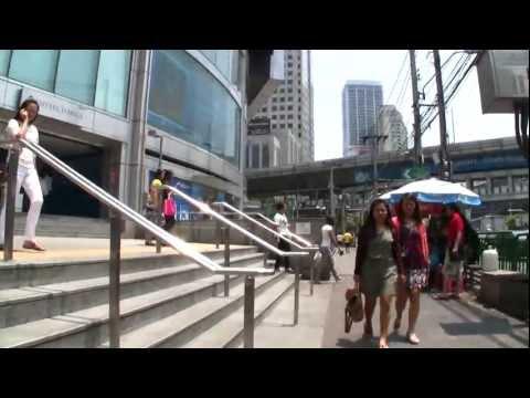 CAN YOU WALK? – Sukhumvit Rd Bangkok city 2012 – HD