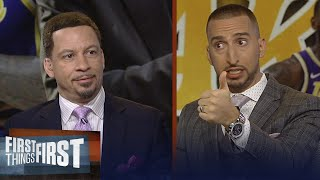 Broussard on whether LeBron had too much say in current Lakers' roster | NBA | FIRST THINGS FIRST
