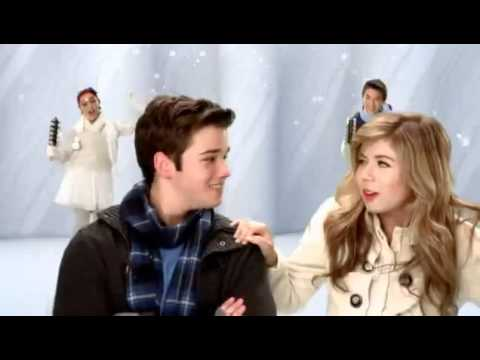 ICarly cast ft Big Time Rush ft Victorious cast ( Nickelodeon Merry Christmas 2011-2012) ( HD )