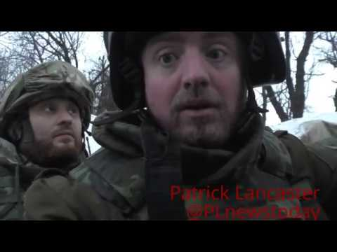 Под огнем ВСУ в окопах Донбасса. без редактирования
