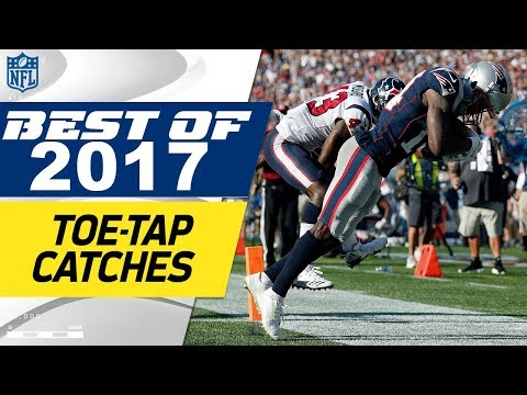 Top Toe-Tap Catches of the 2017 Season! | NFL Highlights