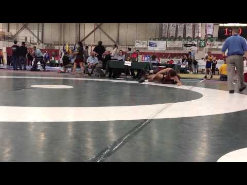 2013 Juvenile National Championships: 58 kg Bronze Alec Flosman vs. Dillon Williams