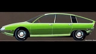 #135. Bmc 1800 berlina aerodinamica 1967 (Prototype Car)