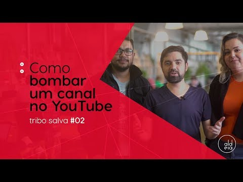 COMO FAZER SEU CANAL NO YOUTUBE BOMBAR l TRIBO SALVA #2 thumbnail