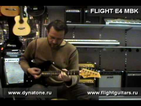 Электрогитара FLIGHT E4 MBK