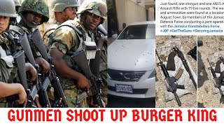 GVNM3N $H00T Man Or RH0BB3RY At Burger King PORTMORE? + Soldiers VS G@NG$T3R$ In August Town