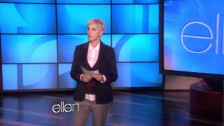 Ellen Checks Her Audience's Facebook!