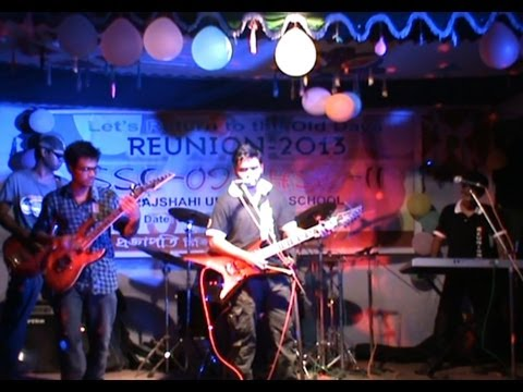 Bristi Dekhe Onek Kedechi By Shudipto  Reunion 2013 (ssc'09 hsc'11 Of Rus) video