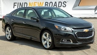 2014 Chevrolet Malibu Start Up and Review 2.5 L 4-Cylinder