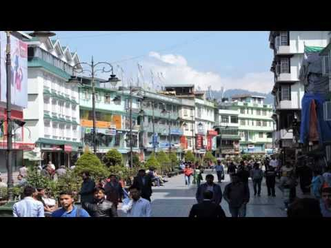 Gangtok Tourism Sikkim Tourism Gangtok Hotels at MG Marg