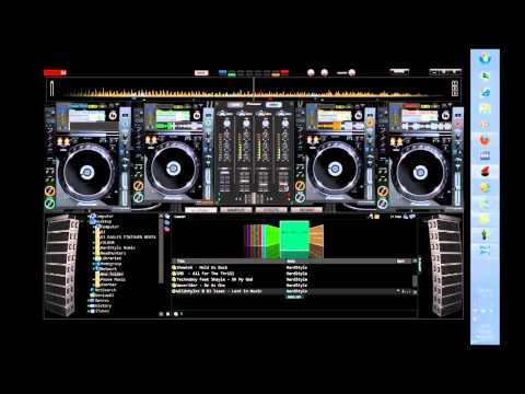 Virtual DJ Pioneer CDJ2000 4Deck DJM5000 Mixer Skin