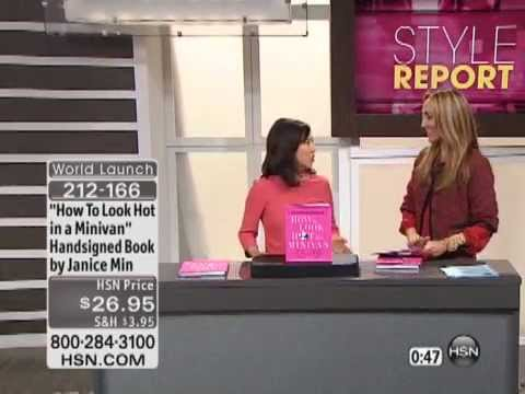 How To Look Hot in a Minivan by Janice Min Handsigned Book Review Interview