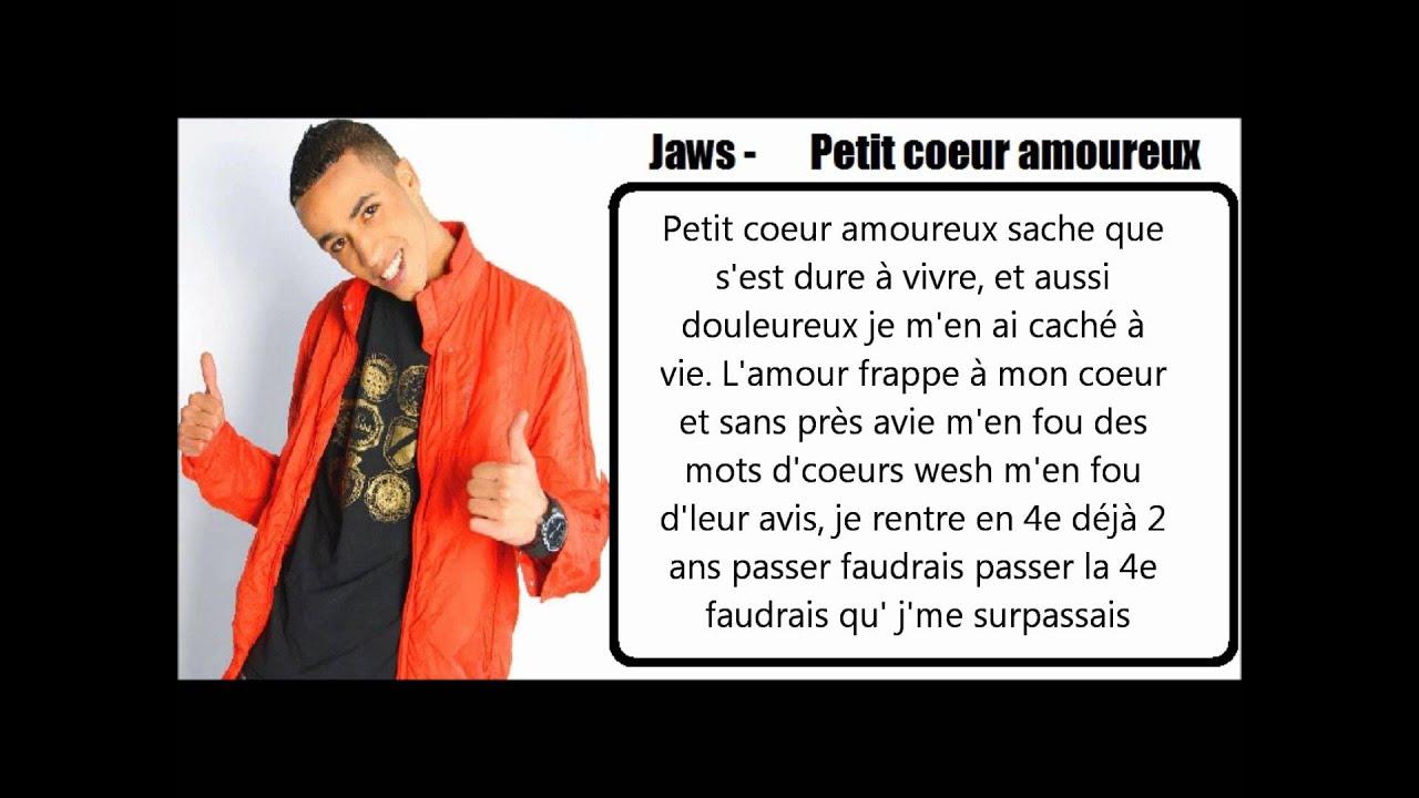 Jaws petit coeur amoureux paroles youtube - Coeurs amoureux ...