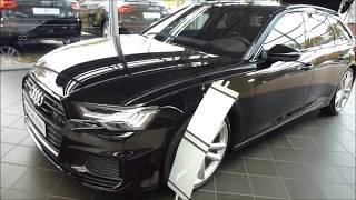 2019 Audi A6 Avant 50 TDI Quattro Exterior & Interior 286 Hp 250 Km/h 155 mph * Playlist