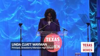 Linda Cliatt Wayman Speaks at the 2016 Texas Conference for Women