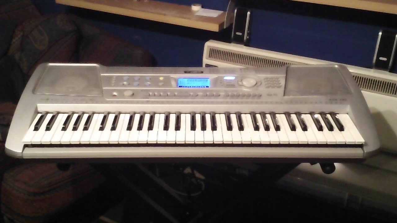 Yamaha psr 290 keyboard 100 demonstration songs part 2 5 for Yamaha keyboard parts
