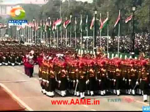 India's Military, Security Displays & Ceremonies at the Republic Day Parade in 2012