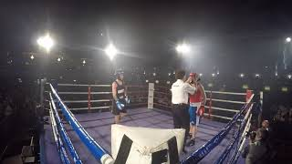 Ultra White Collar Boxing   Durham   Danny Finlay Davidson VS Jackson Husband