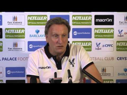 Neil Warnock's First Press Conference Back At Crystal Palace