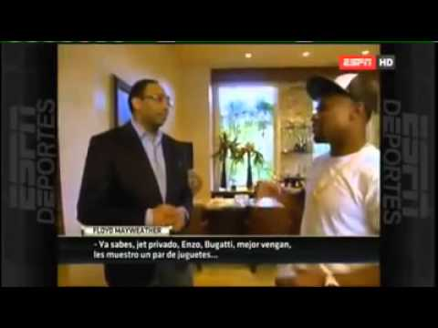 Floyd Mayweather Full interview with Stephen A Smith talking about Manny Pacquiao fight Part 1