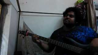 Mark Ronson   Uptown Funk ft  Bruno Mars  Bass cover by Priyam