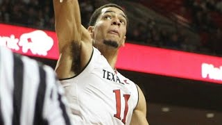 Texas Tech's Zach Smith Puts Everything Into Alley-Oop Slam | CampusInsiders