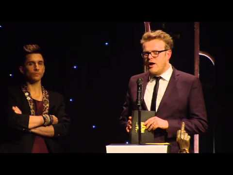 The Child Of Lov Wins The Philip Hall Radar Award At The NME Awards 2013