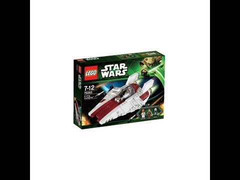 Star Wars LEGO 75003 A-Wing Starfighter HD Set Review  | www.flyguy.net