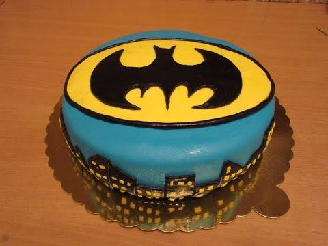 BATMAN torta od fondana!