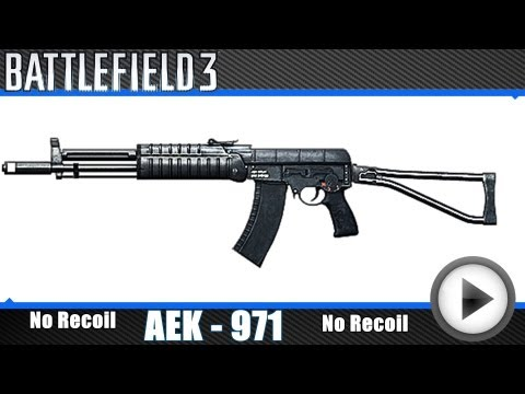 Battlefield 3  -  AEK-971  [Full No Recoil Macro, X7 Mouse]