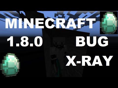 Minecraft Bug 1.8.0 [x-ray]