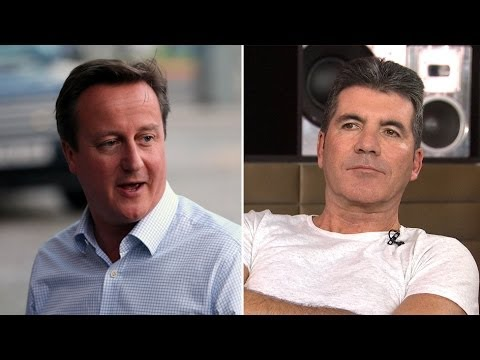 Simon Cowell: David Cameron Is A 'Decent Guy'